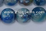 CAA1085 15.5 inches 14mm round sakura agate gemstone beads