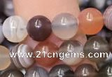 CAA1251 15.5 inches 6mm round Botswana agate beads wholesale