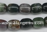 CAA197 15.5 inches 12*14mm drum indian agate beads wholesale