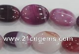 CAA207 15.5 inches 15*20mm oval madagascar agate beads wholesale