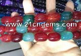 CAA2134 15.5 inches 13*18mm drum agate beads wholesale