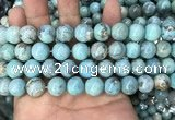 CAA2752 15.5 inches 12mm round agate gemstone beads wholesale