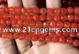 CAA3305 15 inches 6mm faceted round agate beads wholesale
