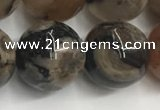 CAA3974 15.5 inches 14mm round sakura agate gemstone beads