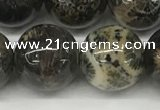 CAA4039 15.5 inches 16mm round chrysanthemum agate beads