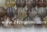 CAA4865 15.5 inches 6mm round Botswana agate beads wholesale