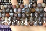 CAA4918 15.5 inches 10mm round Botswana agate beads wholesale