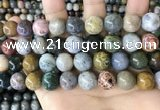CAA4924 15.5 inches 12mm round ocean agate beads wholesale
