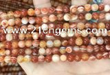 CAA4950 15.5 inches 6mm round Madagascar agate beads wholesale