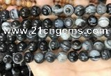 CAA4959 15.5 inches 8mm round Madagascar agate beads wholesale