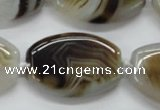 CAA532 15.5 inches 24*34mm flat drum madagascar agate beads
