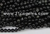 CAE01 15.5 inches 4mm round astrophyllite beads wholesale