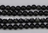 CAE02 15.5 inches 6mm round astrophyllite beads wholesale