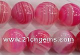 CAG140 smooth round 16mm madagascar agate stone beads Wholesale