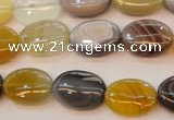 CAG2360 15.5 inches 13*18mm oval African botswana agate beads