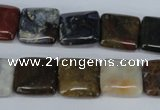 CAG3528 15.5 inches 16*16mm square ocean agate gemstone beads