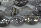 CAG3644 15.5 inches 13*18mm oval ocean agate gemstone beads