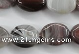 CAG3724 15.5 inches 15*20mm oval botswana agate beads wholesale