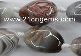 CAG3728 15.5 inches 14*20mm � 20*35mm nuggets botswana agate beads