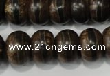 CAG4594 15.5 inches 12*16mm rondelle agate beads wholesale