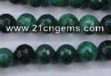 CAG5128 15.5 inches 10mm faceted round agate beads wholesale