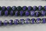 CAG5139 15 inches 6mm faceted round tibetan agate beads wholesale