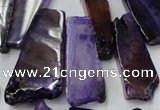 CAG5453 15.5 inches 12*28mm - 22*60mm freeform agate gemstone beads