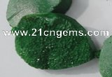 CAG5483 15.5 inches 28*36mm freeform agate gemstone beads