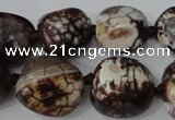 CAG5522 15.5 inches 15*17mm - 17*20mm nuggets agate gemstone beads