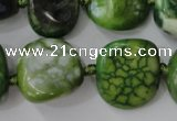 CAG5524 15.5 inches 18*20mm - 20*22mm nuggets agate gemstone beads