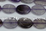 CAG5619 15 inches 13*16mm oval dragon veins agate beads wholesale