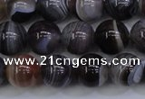CAG5954 15.5 inches 12mm round botswana agate beads wholesale
