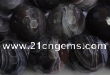 CAG5965 15.5 inches 16mm faceted round botswana agate beads wholesale