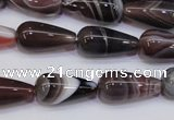 CAG6346 15 inches 10*20mm teardrop botswana agate beads