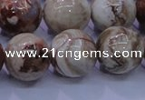 CAG6666 15.5 inches 16mm round Mexican crazy lace agate beads