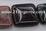 CAG6782 15.5 inches 20*20mm square Indian agate beads wholesale