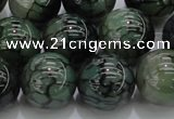 CAG7328 15.5 inches 18mm round dragon veins agate beads wholesale