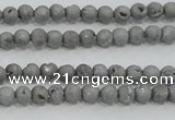 CAG7442 15.5 inches 4mm round plated druzy agate beads wholesale