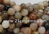 CAG763 15.5 inches 8mm round yellow agate gemstone beads wholesale