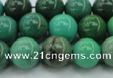CAG7906 15.5 inches 12mm round grass agate beads wholesale