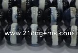 CAG9134 15.5 inches 10mm round tibetan agate beads wholesale
