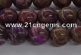 CAG9642 15.5 inches 10mm round ocean agate gemstone beads wholesale