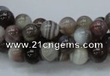 CAG981 15.5 inches 12mm round botswana agate beads wholesale