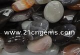 CAG985 15.5 inches 13*18mm faceted oval botswana agate beads