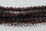 CAJ450 15.5 inches 4mm round purple aventurine beads wholesale