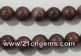 CAJ454 15.5 inches 10mm round purple aventurine beads wholesale