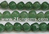 CAJ669 15.5 inches 7*7mm cube green aventurine beads