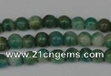 CAM1000 15.5 inches 4mm round natural Russian amazonite beads
