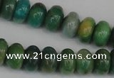 CAM1011 15.5 inches 5*8mm rondelle natural Russian amazonite beads