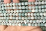 CAM1721 15.5 inches 6mm round amazonite beads wholesale